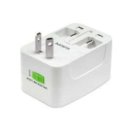 Universal Power Supply Adapter (EU/UK/US)