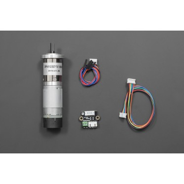 12V Low noise DC Motor 146RPM w/Encoder