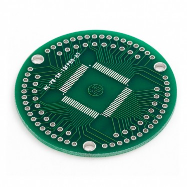 ProtoBoard TQFP80 0.65mm Pitch