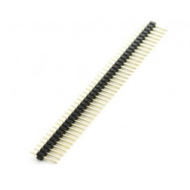 10 Pcs 40 Pin Headers - Straight (Blue)