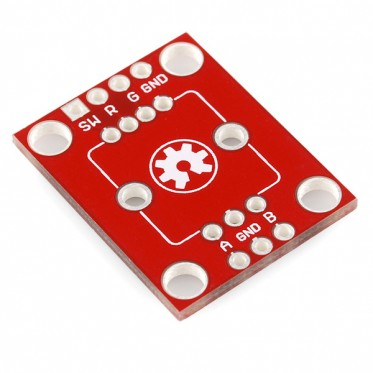 Illuminated Rotary Encoder Breakout