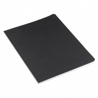 "SFE Project Notebook - 10"" x 7.5"" (Black, Grey Pages)"