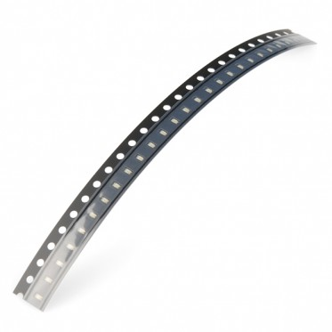 SMD LED - Blue (strip of 25)