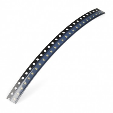 SMD LED - White (strip of 25)