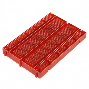 Breadboard - Translucent Self-Adhesive (Red)