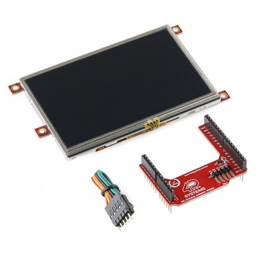 "Arduino Display Module - 4.3"" Touchscreen LCD"