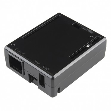 Arduino Yun Enclosure - Black Plastic