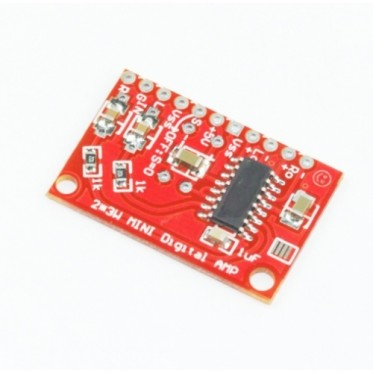 3W mini audio stereo amplifier