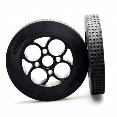 Rubber Wheel 136 24mm (Pair)