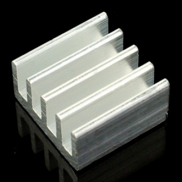 AL Heat Sink (With adhesive tape) - 13*13*7mm