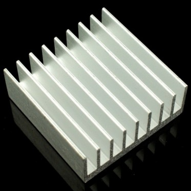 AL Heat Sink (With adhesive tape) - 30*30*12mm