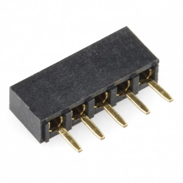 2mm 5-pin Socket