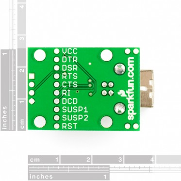 Breakout Board for CP2102 USB to Serial