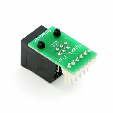 Adapter board for Microchip ICD and ICD2