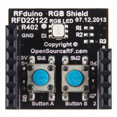 RFduino - RGB/Button Shield