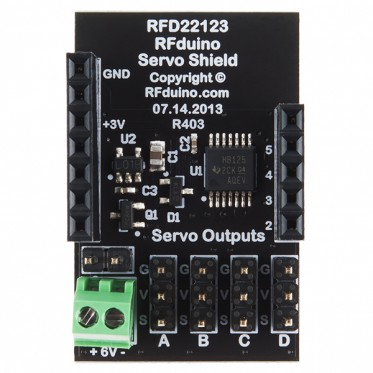 RFduino - Servo Shield