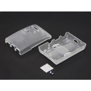 Raspberry Pi B+ Arc Enclosure - Transparent