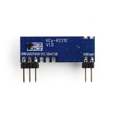 315MHz ASK/OOK Super-heterodyne Receiver module