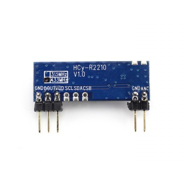 433MHz ASK/OOK Super-heterodyne Receiver module
