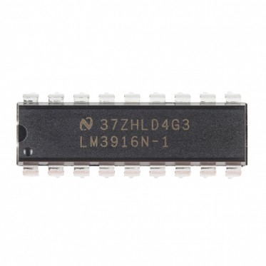 Dot/Bar Display Driver - LM3916 (VU Taper)