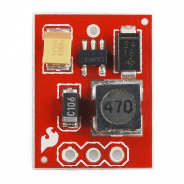 SparkFun 5V Step-Up Breakout - NCP1402