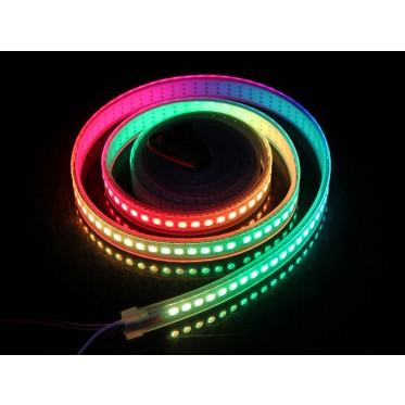 WS2812B Digital RGB LED Waterproof Flexi-Strip 144 LED/meter