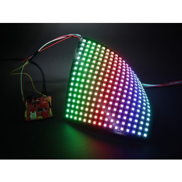16x16 RGB LED Matrix w/ WS2812B - DC 5V