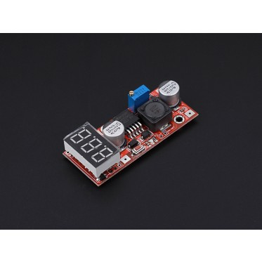 Adjustable DC/DC Power Converter with LED segment display(4.