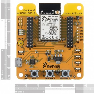 ACKme Mackerel - WiFi Dev Board