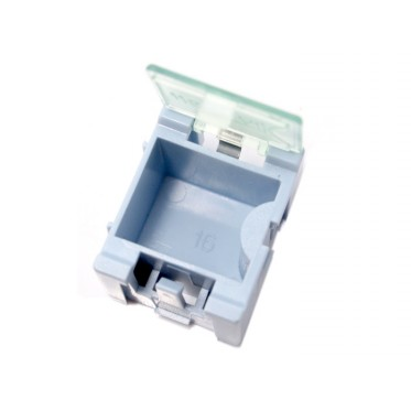 Small Size Components Storage Box - 5 PCs per lot - blue
