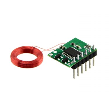 Mini 125Khz RFID Module - Pre-Soldered Antenna (35mm Reading Distance)