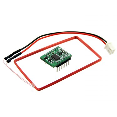 Mini 125Khz RFID Module - External LED/Buzzer Port (70mm Reading Distance)