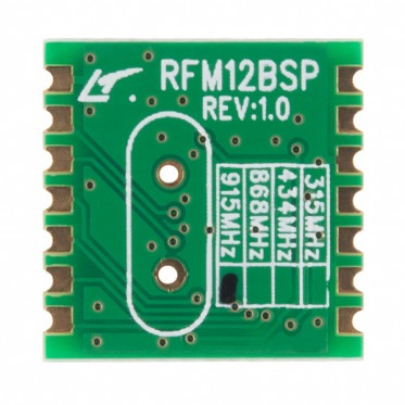 RFM12B-S2 Wireless Transceiver - 915MHz