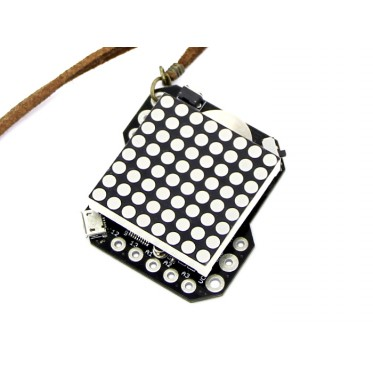 8 SQUARE - Heartbeat Necklace Soldering Kit