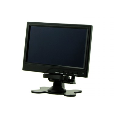 7'' Diagonal - 1280x800 IPS HDMI/VGA/NTSC/PAL Display