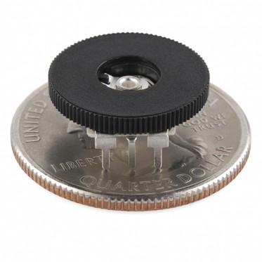 Thumbwheel Potentiometer - 10k Ohm, Linear