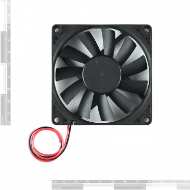 DC Brushless Fan - 80x80x15mm (5V)