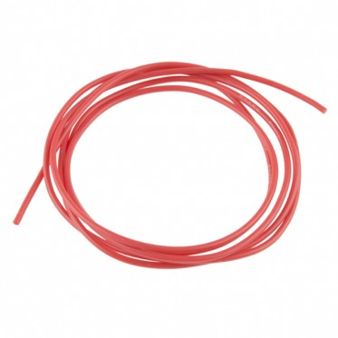 Hook-Up Wire - Silicone 24AWG (Red, 1M)