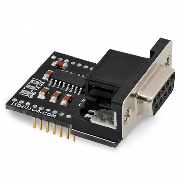 RS-232 Serial / Modbus Module for Arduino, Raspberry Pi and Intel Galileo [XBee Socket]