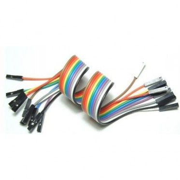 "Jumper Wires 9"" F/F Pack of 10"