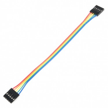 "Jumper Wire - 0.1"", 5-pin, 6"""