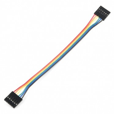 "Jumper Wire - 0.1"", 6-pin, 6"""