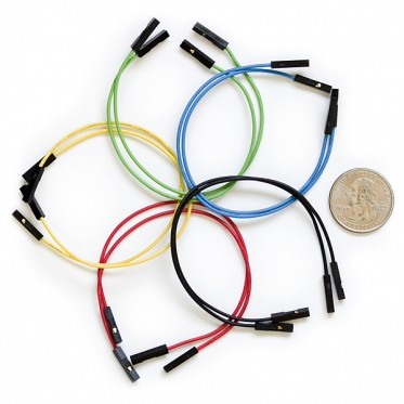"Jumper Wires Premium 6"" Mixed Pack of 100"