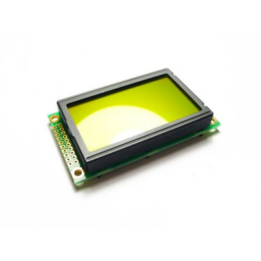 Graphic LCD 128*64 (KS0108 ctrl) - D.Blue and Yellow Green