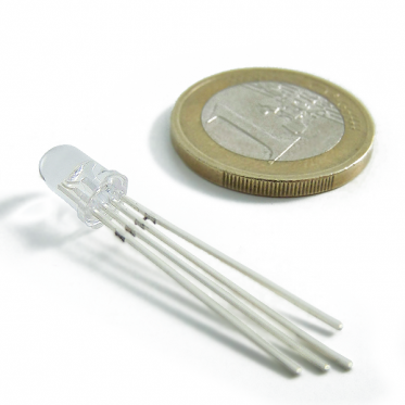 5mm Triple Output LED RGB (Common Anode)