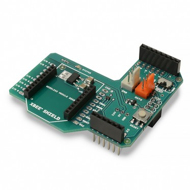 Communication Shield (XBee, Bluetooth, RFID) - XBee Shield