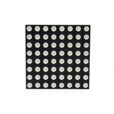60mm square 8*8 LED Matrix - super bright RGB