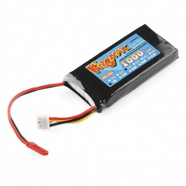 Polymer Lithium Ion Battery - 1000mAh 7.4v