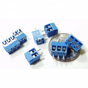 Screw Terminals 3.5mm Pitch (2-Pin)