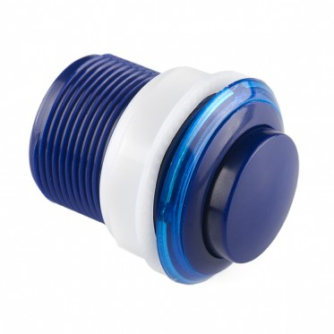 Push Button 33mm - Blue